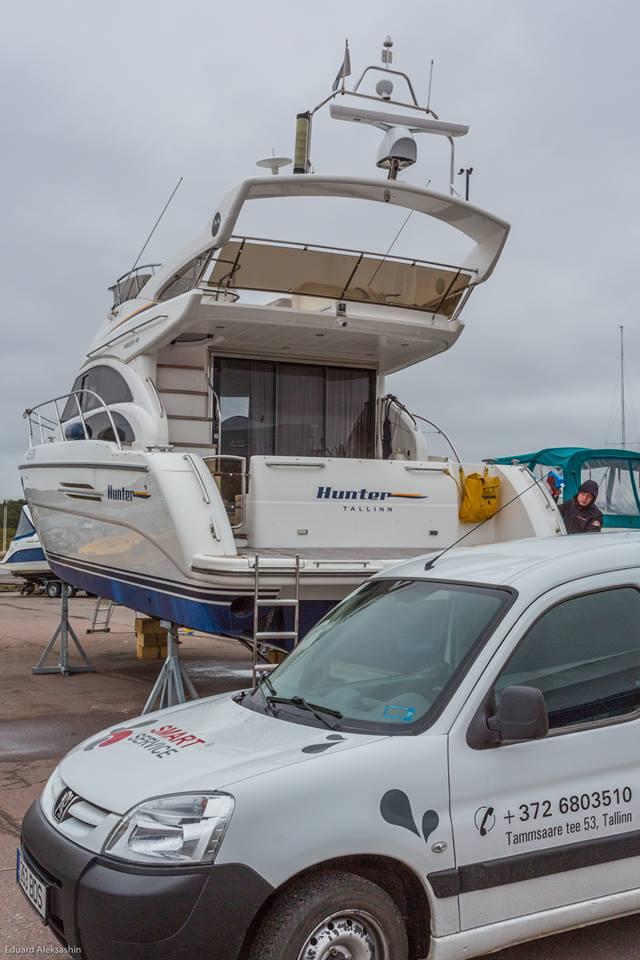 чистка и уход за лодкой