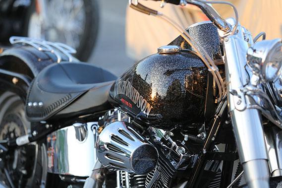 Motocikla pulēšana